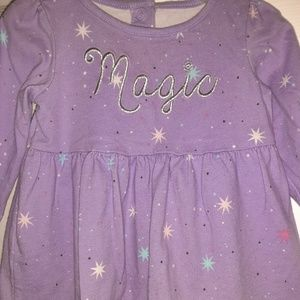 3/$20 Purple Magic Gymboree Dress